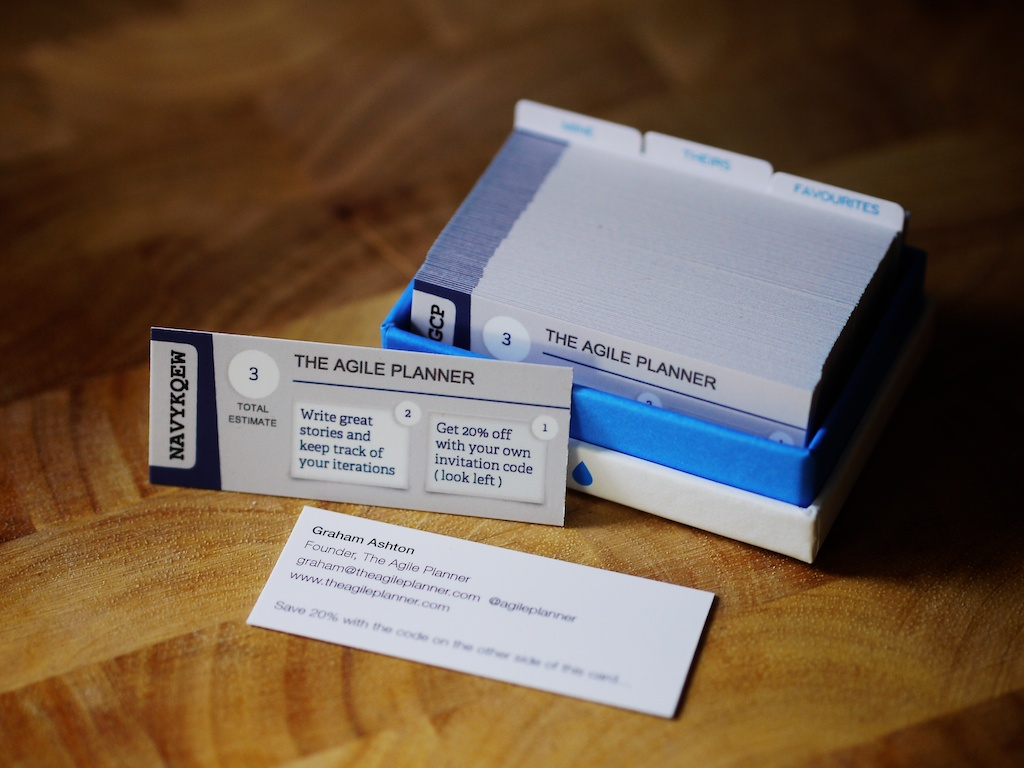 Print sign-up codes on your startup business cards